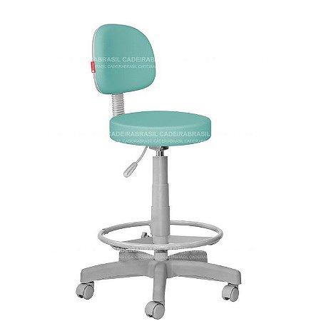Cadeira Mocho Alto Estética, Fisioterapia, Odontologia Secretária Premium Cadeira Brasil CB 1555