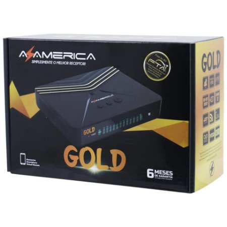 RECEPTOR AZAMERICA GOLD HD - TOP