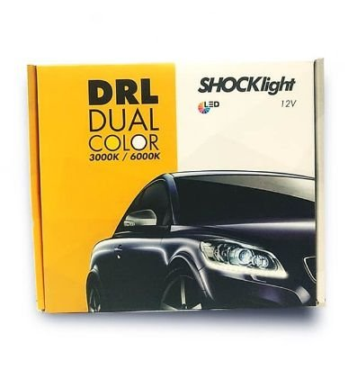 PAR FITA LED DRL FLEXÍVEL - SHOCKLIGHT