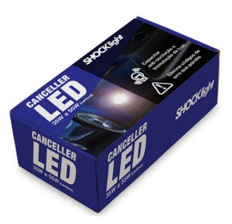 CANCELLER LED 35W A 55W CANBUS - SHOCKLIGHT