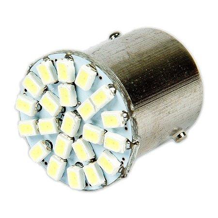 LAMPADA 67 22 LEDS 1 POLO BRANCO 12V - WDC
