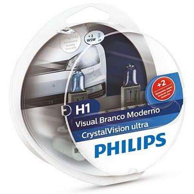 PAR LAMPADA H1 CRYSTAL VISION ULTRA - PHILIPS
