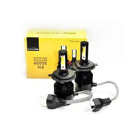 KIT LED STANDARD H4 6K COB CODE