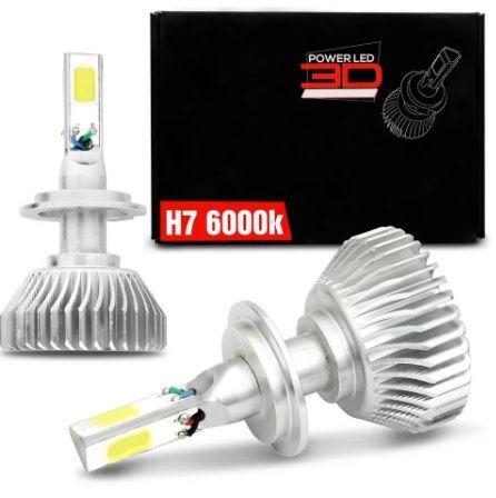 KIT POWER LED 3D H7 6K SHOCKLIGHT