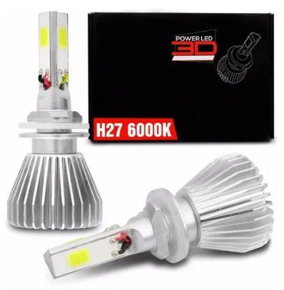 KIT POWER LED 3D H27 6K SHOCKLIGHT