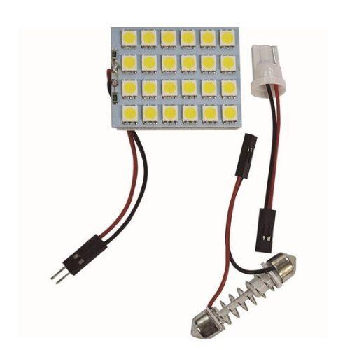 PLACA COM 24 LEDS 5050 BRANCO 12V WDC