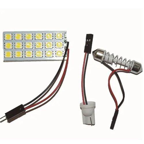 PLACA COM 18 LEDS 5050 BRANCO 12V WDC