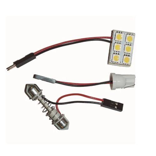 PLACA COM 6 LEDS 5050 BRANCO 12V WDC