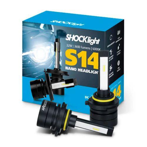 KIT NANO LED HB3 HB4 6K  SHOCKLIGHT