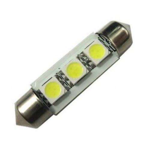 LAMPADA TORPEDO 3 LEDS 41MM 6K