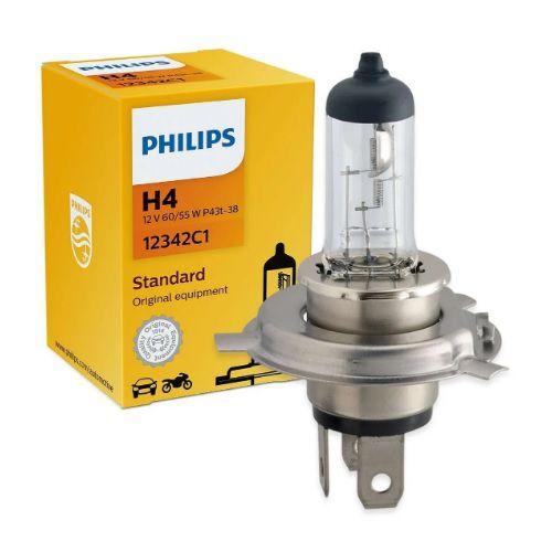 LAMPADA H4 55/60W 12V PHILIPS