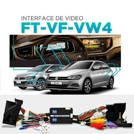 INTERFACE DE VIDEO POLO VIRTUS 2018 T-CROSS 2019 NIVUS 2021