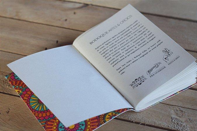 Caderneta de bolso de luxo em couro sintético branca - POLIANA LOPES