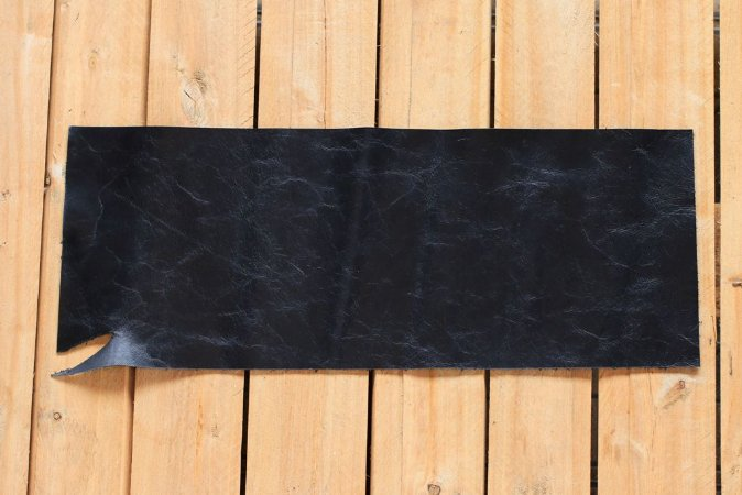 Couro preto para encadernação formato A6 Bodoque