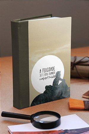 Caderno artesanal Into the Wild capa dura Bodoque Artes e ofícios
