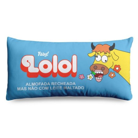 ALMOFADA RETRÔ - CHOCOLATE LOLOL