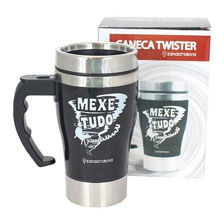 CANECA MIXER QUE MEXE TUDO - PRETA