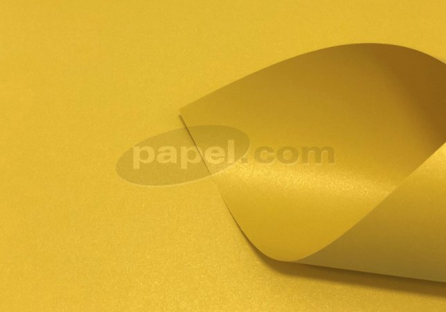 Papel Class Color Ouro Amarelo