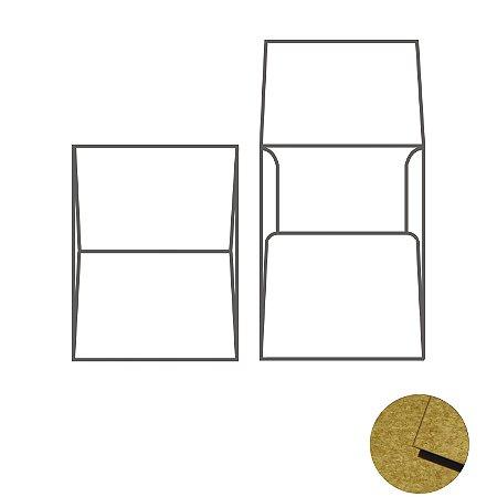 Envelope (REF 07 - 21,2 x 15,1 cm) Kraft