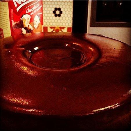 Piscininha de Chocolate