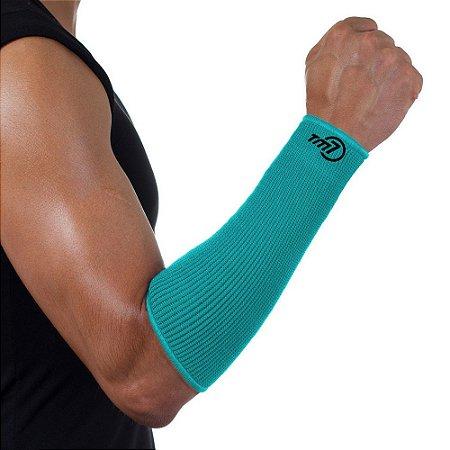 Protetor De Antebraço Para Voleibol BRAC7 Verde Punho