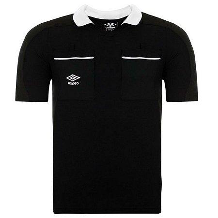Camisa Árbitro Umbro Preta