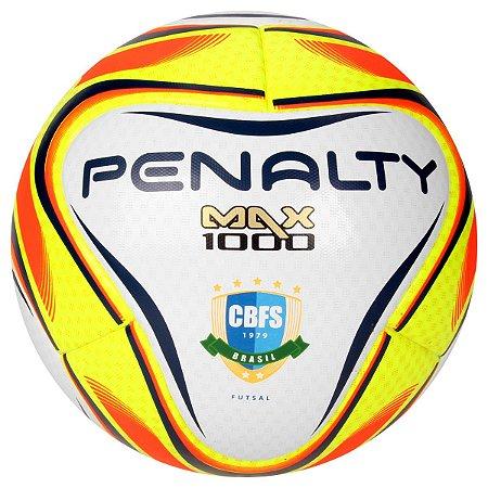 Bola Futsal Penalty Max 1000 Pró Amarelo