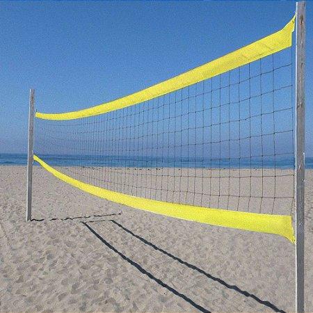 Rede Profissional Vôlei de Praia 8,50 m 2 Faixas