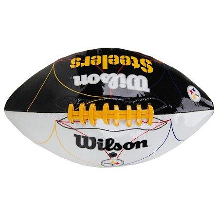 Bola de Futebol Americano Wilson Pittsburgh Steelers Jr