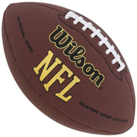 Bola Futebol Americano Wilson NFL Super Grip Dr