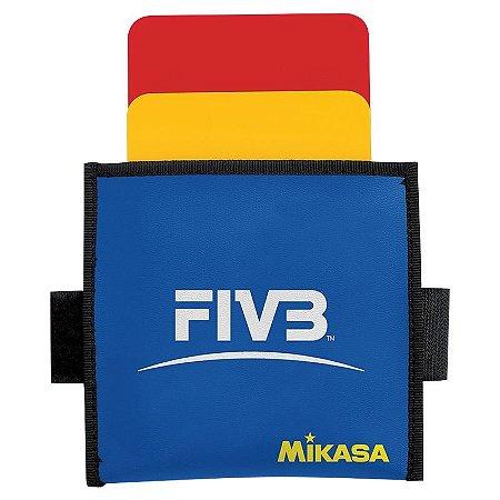 Cartão de Árbitro de Vôlei Mikasa FIVB