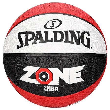 Bola De Basquete Spalding Zone Nba Vermelho