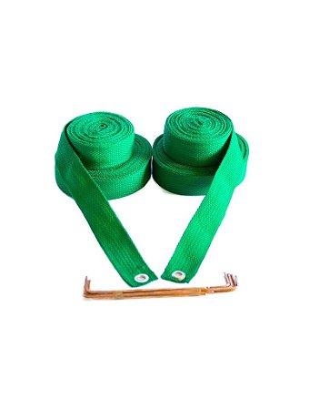 Marcação para Volei De Praia 4 cm - Verde