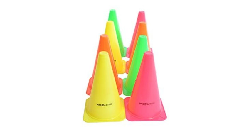 Kit de 8 Cones Agilidade 15cm PROACTION