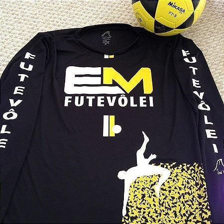 Camiseta Manga Longo Dry Fit da dupla Eduardinho e Marcelinho