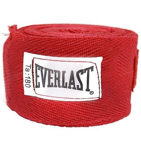 Faixa Protetora Para Mao 180 Vermelho - Everlast