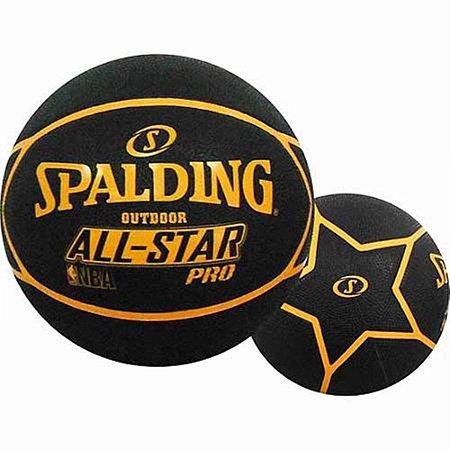 Bola Basquete Spalding NBA All Star Pro Laranja