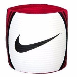 Faixa De Capitão Nike Capitão Armband T90 Branco Vermelho