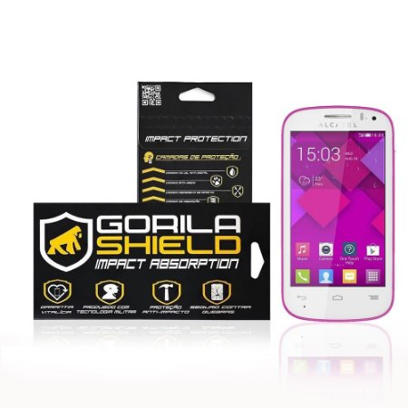 Película de vidro para Alcatel Pop C3 - Gorila Shield