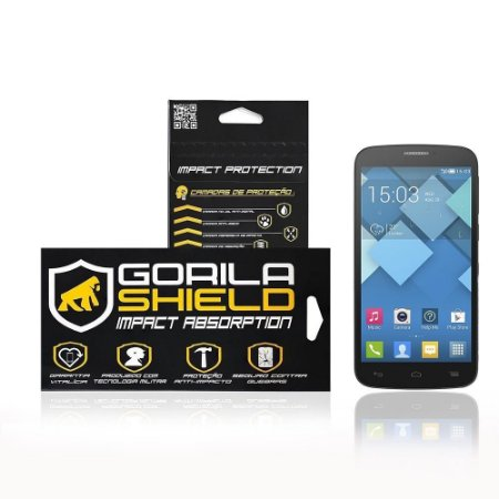 Película de vidro para Alcatel Pop C7 - Gorila Shield