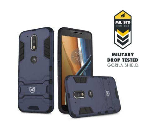 Capa Armor para Motorola Moto G4 - Gorila Shield
