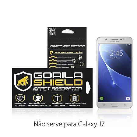 PELÍCULA DE VIDRO FRONTAL SAMSUNG GALAXY J7 METAL - GORILA SHIELD