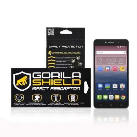 Película de Vidro para Alcatel Pixi 4 - Tela de 6 polegadas - Gorila Shield