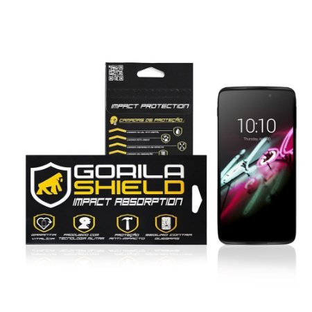 Película de Vidro para Alcatel Idol 3 - Tela de 4.7 polegadas - Gorila Shield