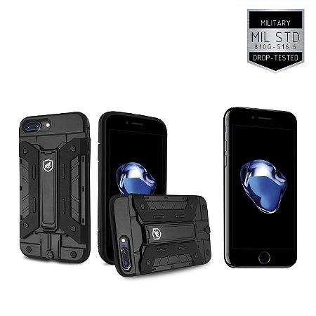 Kit Capa Guardian e Película de Vidro para Apple iPhone 7 Plus - Gorila Shield