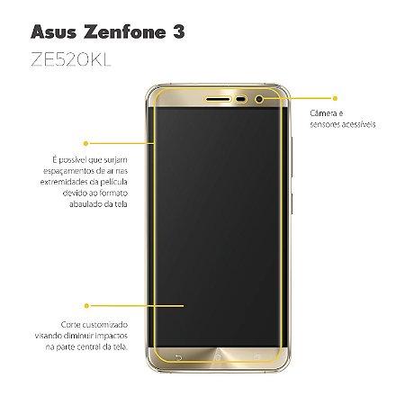 Película para Asus Zenfone 3 - ZE520KL - 5,2 Polegadas - Gorila Shield