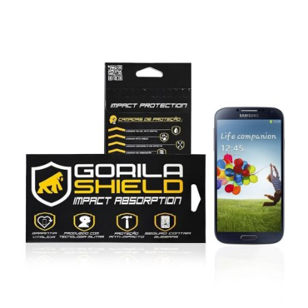 Película de vidro frontal para Samsung Galaxy S4 - Gorila Shield