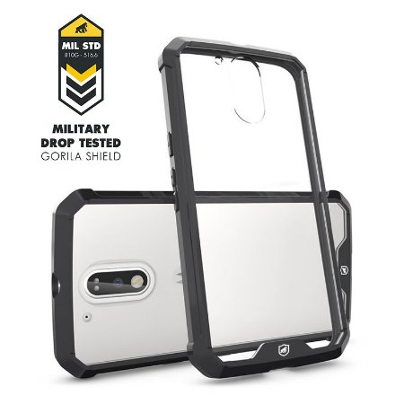 Capa Ultra Slim Air Preta para Motorola Moto G4 e G4 Plus - Gorila Shield