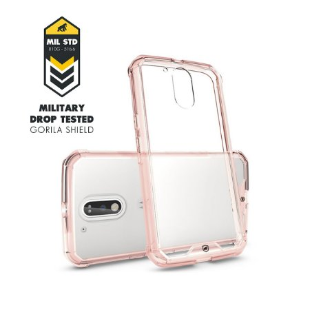 Capa Ultra Slim Air Rosa para Motorola Moto G4 / G4 Plus - Gorila Shield