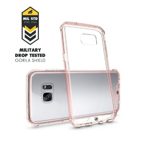Capa Ultra Slim Air Rosa para Samsung Galaxy S7 Edge - Gorila Shield